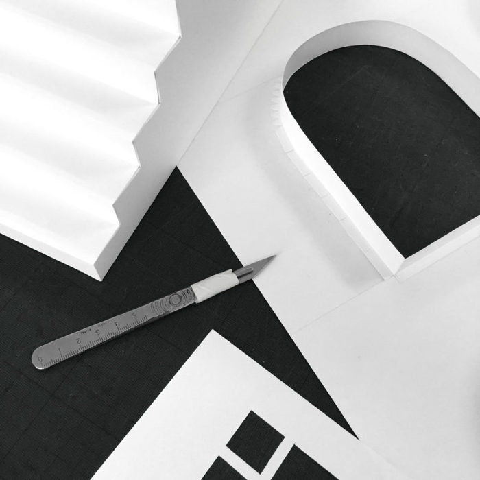 These Miniature Architectural Paper Structures Look Like Real Buildings