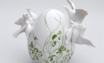 Beautiful Porcelain Egg Sculptures by Juliette Clovis