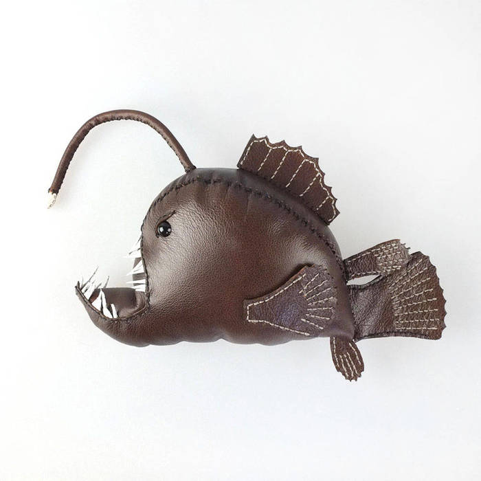 Decorative Leather Sea Creatures by Freda Cheung
