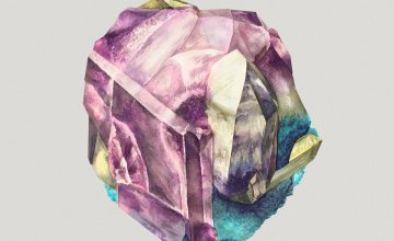 Gorgeous Watercolor Crystal Illustrations by Karina Eibatova
