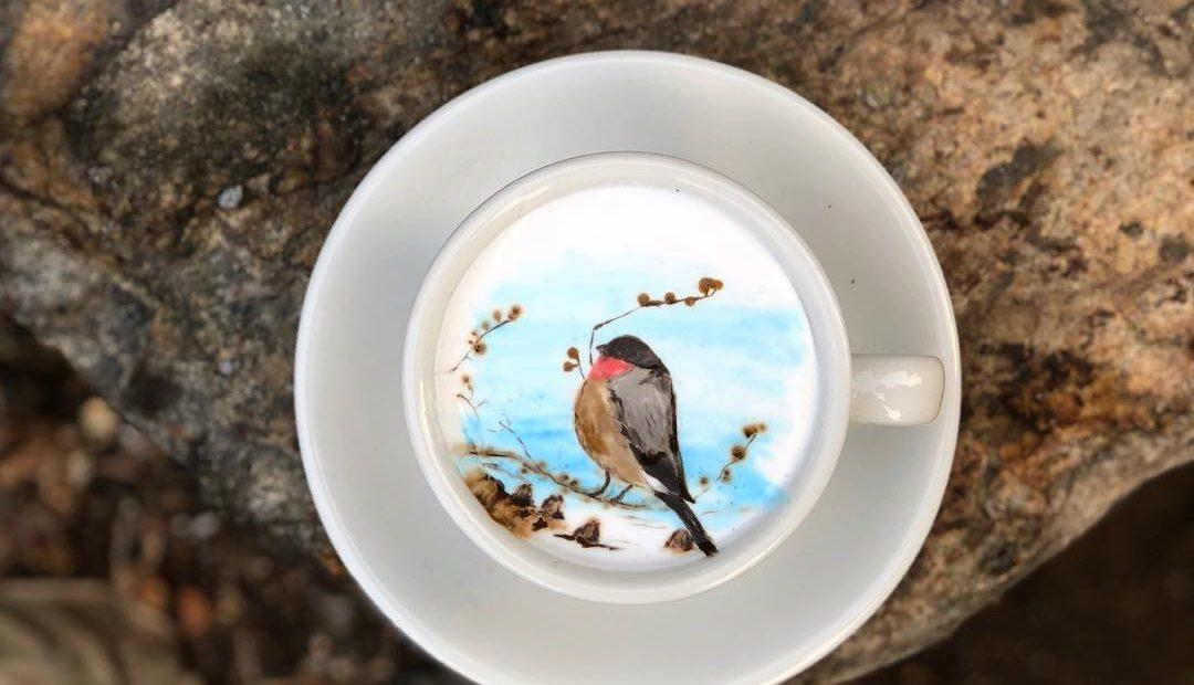 Impressive Coffee Art