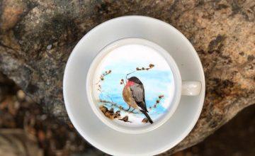 Impressive Coffee Art by Korean Barista Lee Kang Bin
