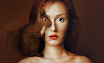 Animeyed: Surreal Self-Portraits by Flora Borsi