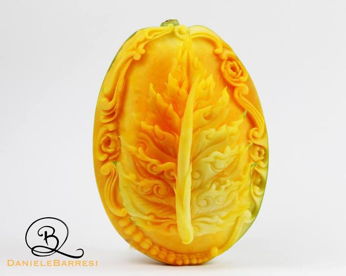 Exquisite Food Sculptures by Daniele Barresi