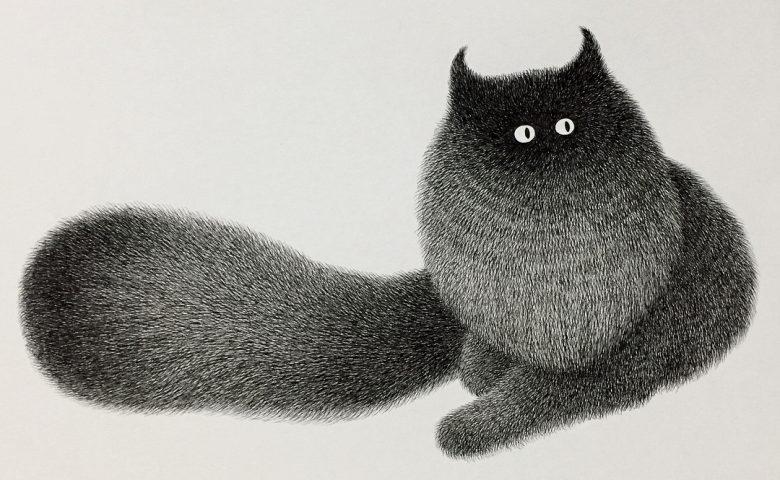 Cute Furry Animal Illustrations by Kamwei Fong