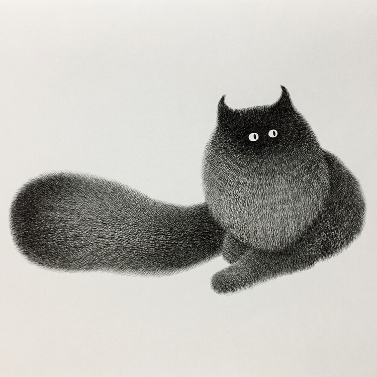 Cute Furry Animal Illustrations by Kamwei Fong