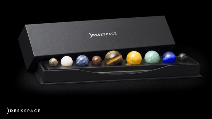 DeskSpace A Handcrafted Solar System Desk Accessory by DeskX
