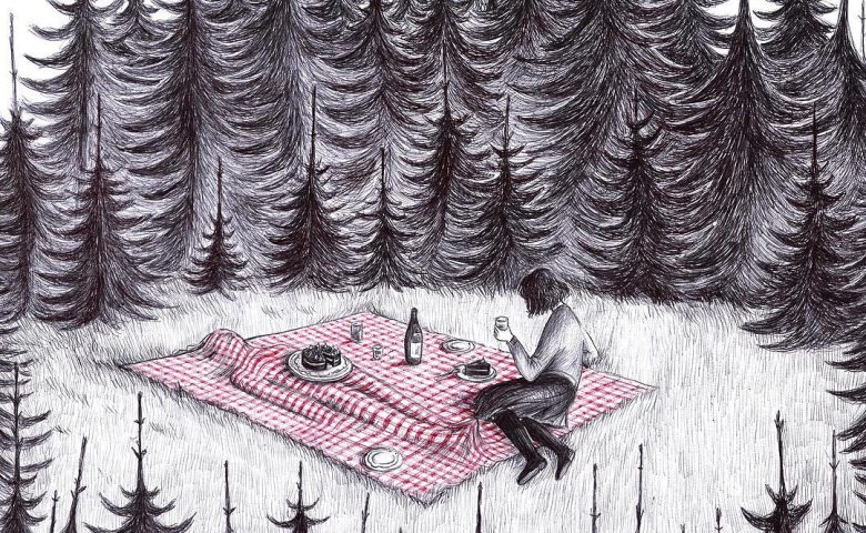Peculiar Illustrations by Virginia Mori Mix Surreal and Dark Humor