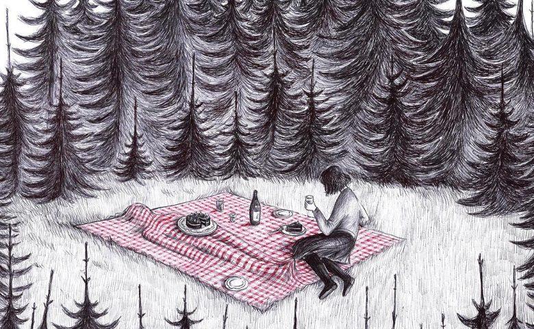 Peculiar Illustrations by Virginia Mori Mix Surreal and Dark Humor