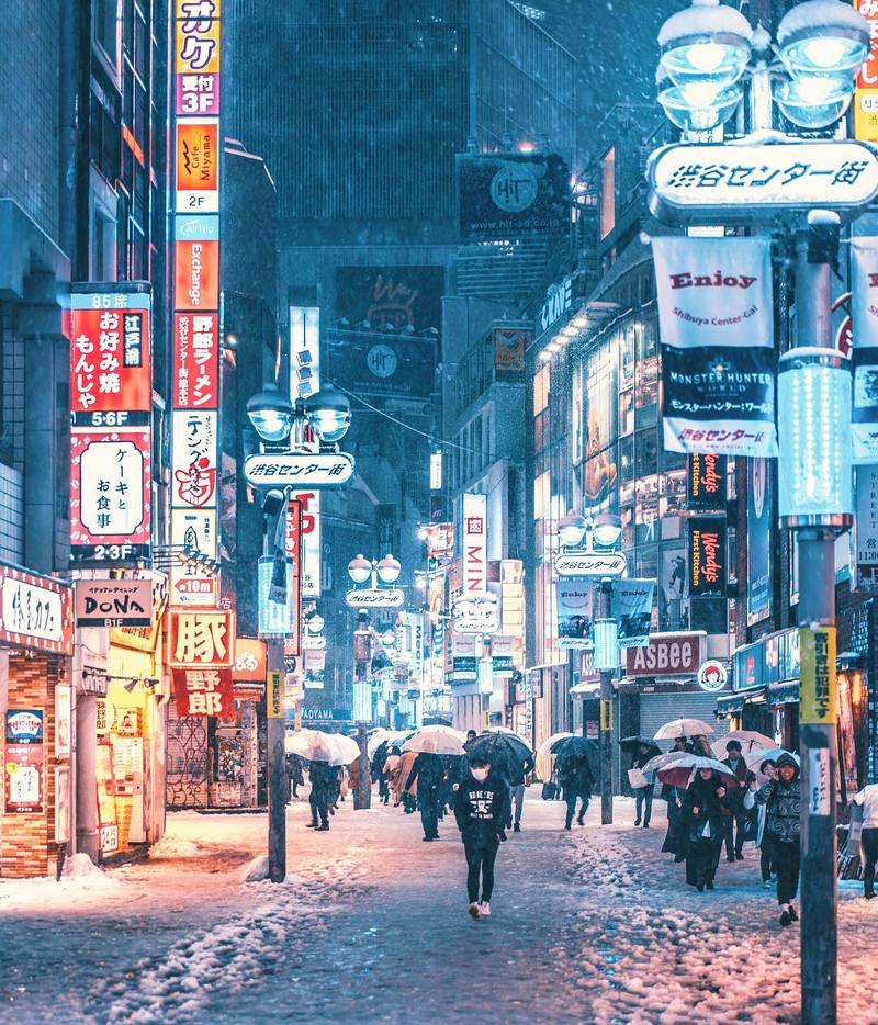 Stunning Nighttime Photographs Of Japan by Naohiro Yako