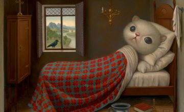 Peculiar Pop Surrealist Paintings by Marion Peck