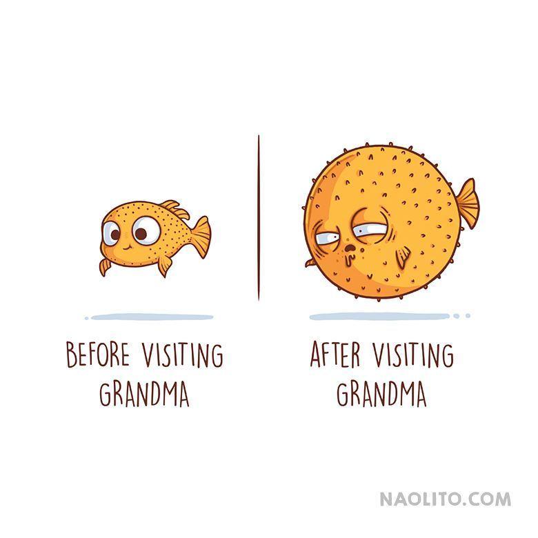 Funny Illustration by Nacho Diaz